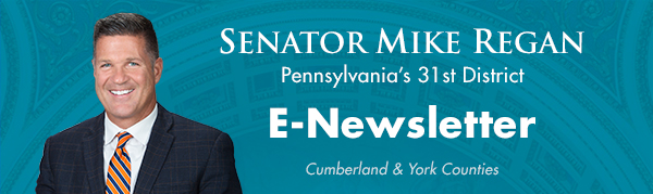 Senator Mike Regan E-Newsletter