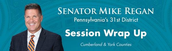 Senator Mike Regan E-Newsletter